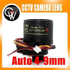 Online Shop New 4-9mm Auto Varifocal Fixed Iris Infra Red <b>CCTV</b> ...