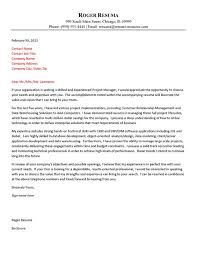 technology cover letter example technology cover letters