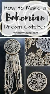 How to Make a <b>Bohemian Dream</b> Catcher with embroidery hoops ...
