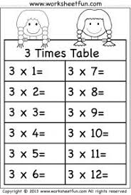 1000+ images about Multiplication Worksheets on Pinterest | Times ...Times Tables Worksheets – 2, 3, 4, 5, 6, 7,