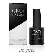 <b>CND</b> - <b>Vinylux Weekly</b> Long Ware <b>Top</b> Coat 0.5 oz – Beyond Polish