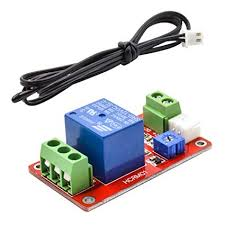 GERI 1 Single-Channel Thermal <b>Relay</b> Control Sensor <b>Module</b> ...