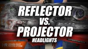 Difference between Projector and Reflector Headlights - What's the ...