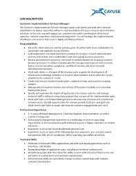 duties of customer service template manager job description duties of customer service