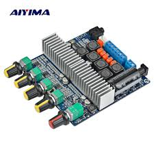 AIYIMA <b>TPA3116 Subwoofer Amplifier</b> Board 2.1 Channel High ...
