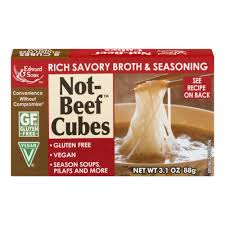 Edward & Sons Not-Beef Cubes, 3.1 oz - Ralphs