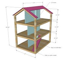 warning this dollhouse is huge measure your doorways to make sure barbie doll furniture plans