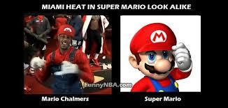Super Funny Memes | -super-mario-look-alike-mario-chalmers-vs ... via Relatably.com