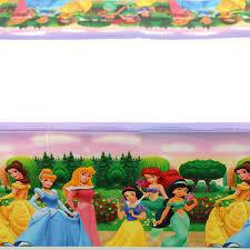 <b>108x180cm</b> Princess Tablecloth Kids Girls Happy <b>Birthday Party</b> ...