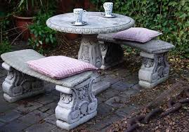 concrete garden furniture is it for you browse cement furniture
