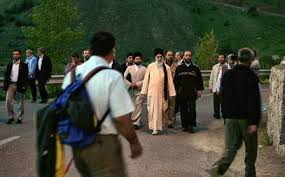 Image result for ?تصاویری از کوهپیمایی آیت الله خامنه ای?