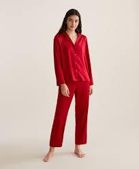 Красные <b>брюки</b> с принтом «<b>Сердечки</b>» - Одежда для сна ...