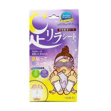 Kinomegumi 樹之惠 Ashi Rirashito <b>Detox Foot</b> Patch Lavender <b>30pcs</b>