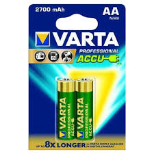 Характеристики модели Аккумулятор Ni-Mh 2700 мА·ч <b>VARTA</b> ...