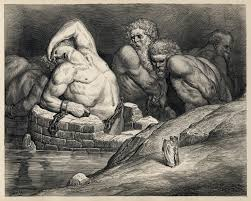 god s divine justice in dante s inferno writework titans and other giants are imprisoned in hell in this illustration by gustave doratildecopy of dante s