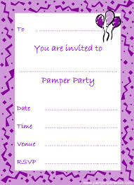 printable pamper party invitations girls printable pamper party invitations girls 436 x 600 560 x 771
