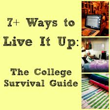 ways to live it up the college survival guide book review 7 ways to live it up the college survival guide book review