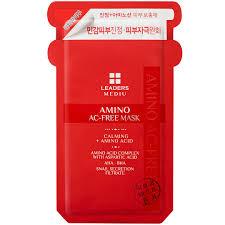 Leaders <b>Mediu Amino AC-Free</b> Mask (Single- Buy Online in ...