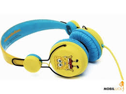 Видеообзор и фото <b>Наушники Coloud SpongeBob Square</b> ...