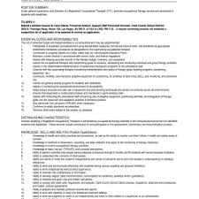 resume  examples of occupational therapy  corezume coresume  occupational therapy assistant resume examples pdf by tlt occupational therapy assistant resume examples