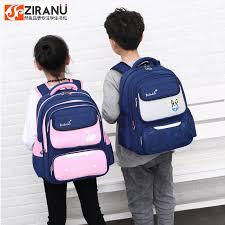waterproof <b>Children School Bags</b> For Girls <b>Boys kids</b> schoolbag ...