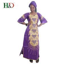<b>H & D Bazin Riche African</b> Evening Dresses Plus size Women ...