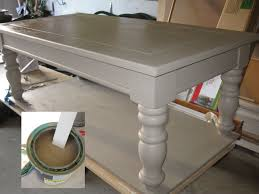 opps paint cappuccino color for whitewash effect chalk paint coffee table