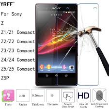<b>10PCS</b> 2.5D <b>Tempered Glass</b> Screen Protector Film For Sony ...