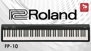Новое <b>цифровое пианино ROLAND</b> FP-10 - YouTube