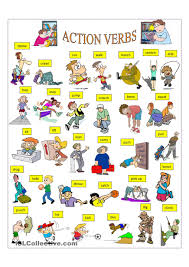 a action words doc tk a action words 23 04 2017