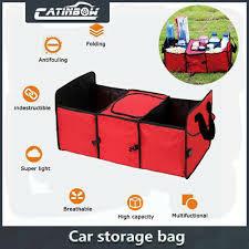 <b>Car Trunk</b> Cargo Organizer Folding <b>Storage</b> Collapsible Bag Bin ...
