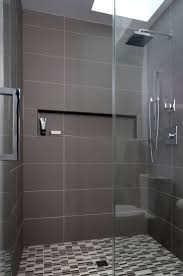 Contemporary Showers Bathrooms 17 Best Ideas About Large Tile Shower On Pinterest Master