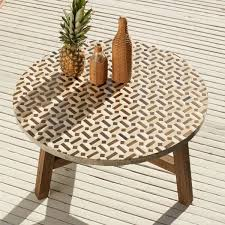 side table patio coffee modern outdoor furniture colorful tables and chairs cb mediterranean o