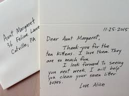how to write a thank you note a real one when to send a thank you note