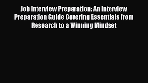job interview preparation an interview preparation guide 00 05