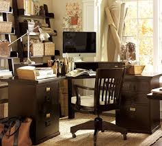 bedford corner desk pottery barn bedford shaped office desk