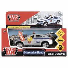 """<b>Машина</b> металлическая """"<b>MERCEDES</b>-<b>BENZ</b> GLE COUPE ..."""