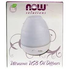Now Foods, <b>Solutions</b>, <b>USB Oil</b> Diffuser, 1 Diffuser in 2020 | Oil ...