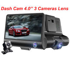 4'' HD 1080P <b>3 Lens Car</b> DVR Dash Cam Vehicle Video Recorder ...