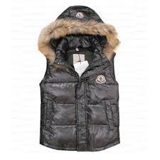 Mens Moncler <b>Vest Fashion Rabbit Fur</b> Zip Style Grey DG9935 [36ee]