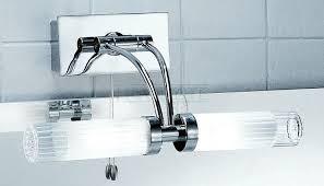 ribbed shade adjustable bathroom over mirror light franklite lighting bathroom lighting over mirror