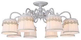 <b>Люстра Arte Lamp</b> Merletto <b>A5709PL</b>-<b>8WG</b>, E14, 320 Вт — купить ...