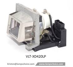 China <b>Compatible Projector Bare Lamp</b> with Lamp Cage for ...