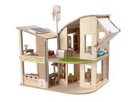 Green Dollhouse   Furniture   PlanToysGreen Dollhouse   Furniture