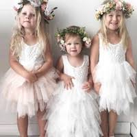 Wholesale <b>Lovely Lace Flower Girl</b> Dress - Buy Cheap Lovely Lace ...