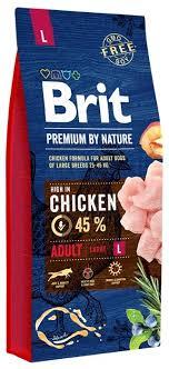 <b>Корм</b> для собак <b>Brit Premium</b> by Nature курица (д... — купить по ...