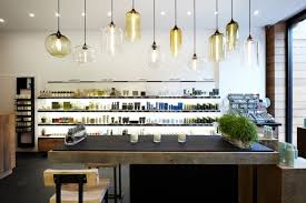 kitchen lighting multi pendant lamps with various shape clear glass shade over kitchen island attractive kitchen bench lighting