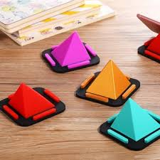 Wholesale Universal Pyramid Phone Holder <b>Stand Soft Silicone</b> ...