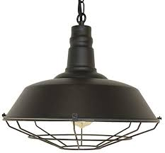 <b>Vintage Industrial Pendant Light</b> - Retro Style Light Fixture - Great ...