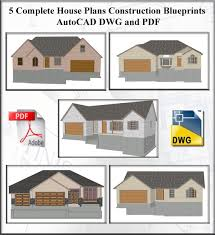 AutoCAD   Guest House PlansHouse and cabin plans